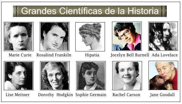 Resultado de imagen de mujeres cientificas importantes