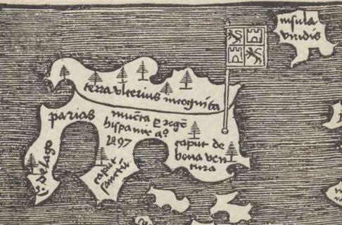 Detalle del mapa de Aurelius.