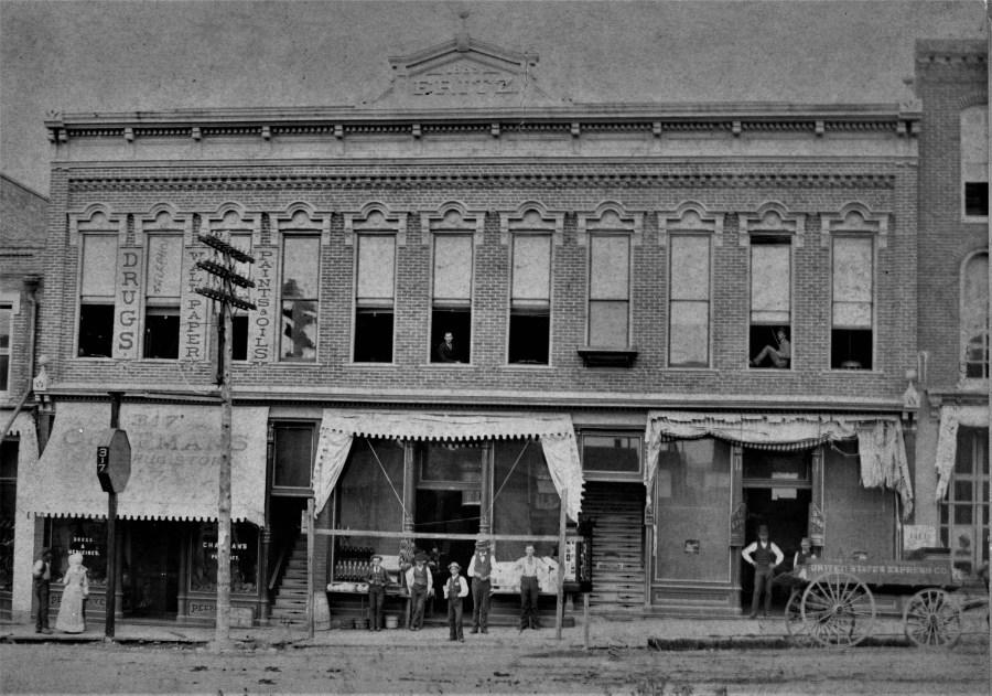 Chapman's Drugstore 1890