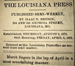 214-216 GA LA Press J 1892