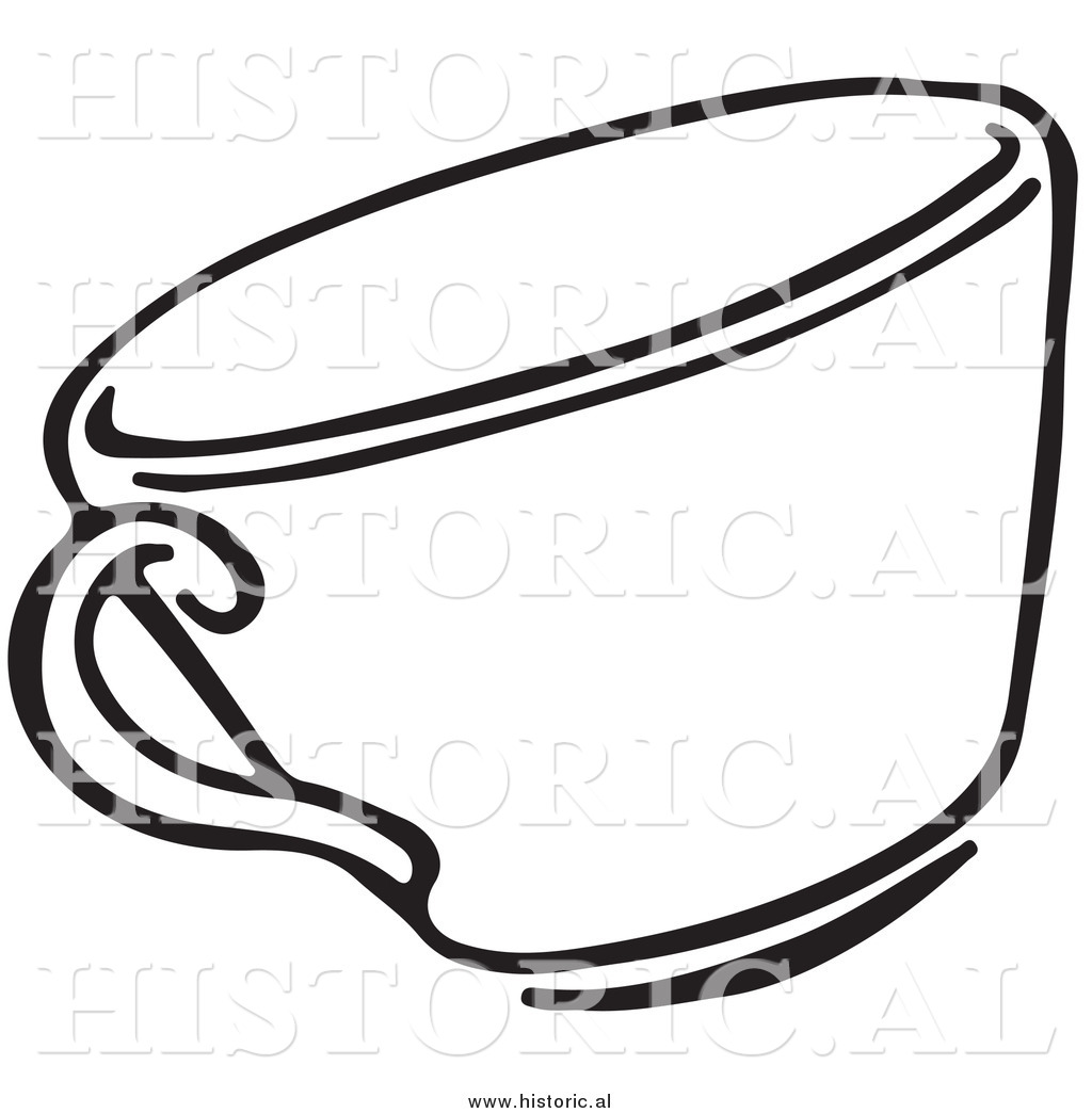 Clipart Of A Tea Cup