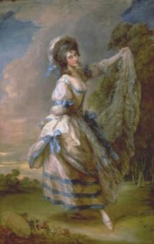 bergére in Gainsborough painting