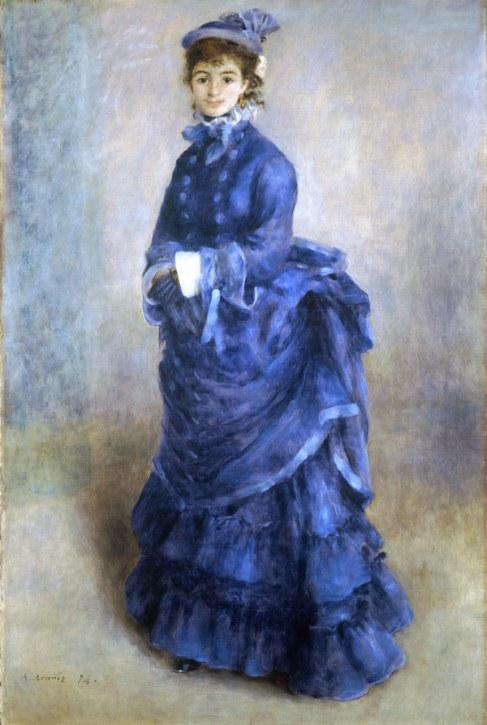 Auguste Renoir, La Parisienne, 1874