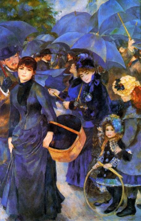 Auguste Renoir, The Umbrellas, 1881-6