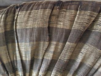 Linen herringbone braid detail, mid-18th C. Panier, Snowshill Costume Collection