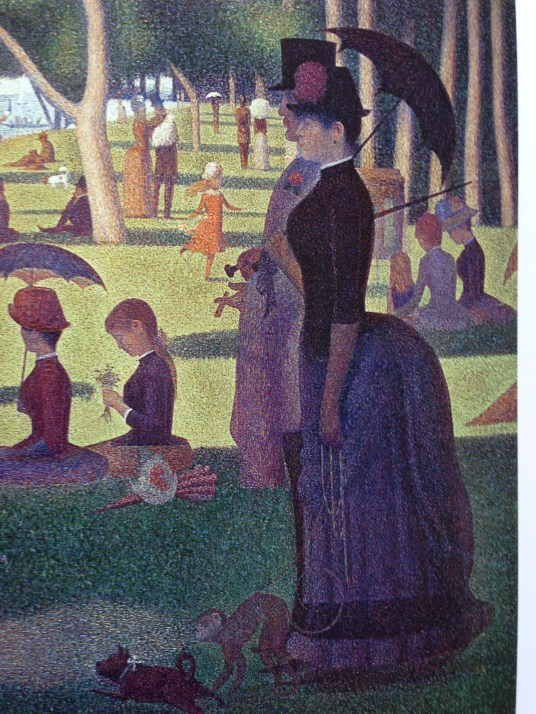 Georges Seurat, A Sunday Afternoon on the Island of La Grande Jatte, 1884