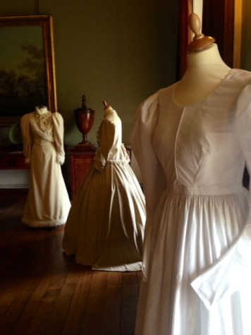 Professor Nancy Hills, 'Symphony In White' exhibition at Berrington Hall throughout 2014.