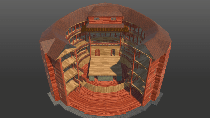 Stage Iteration One: Top Down View