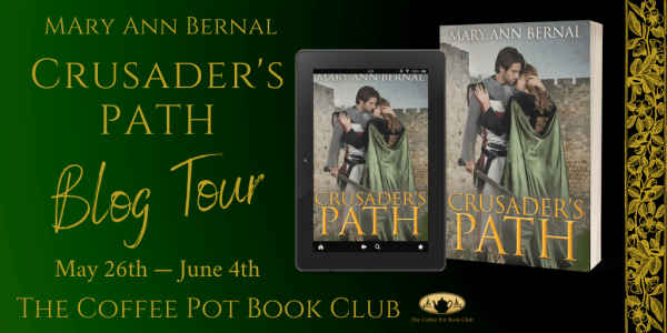 Mary Ann Bernal's Tour Banner - Crusader's Path