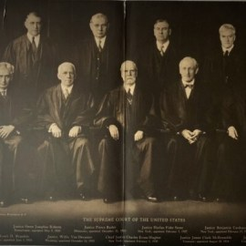 Members of the 1935 US Supreme Court