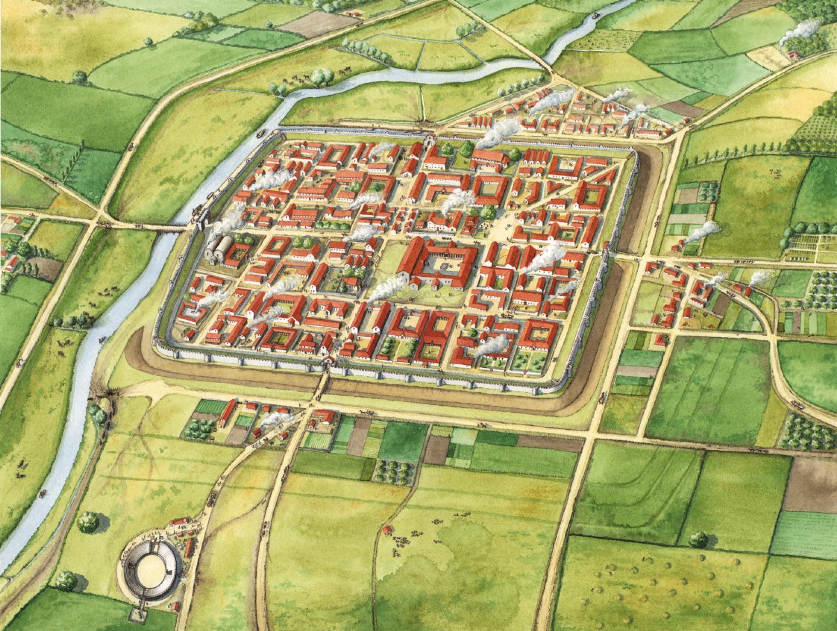 Roman town of Venta Icenorum