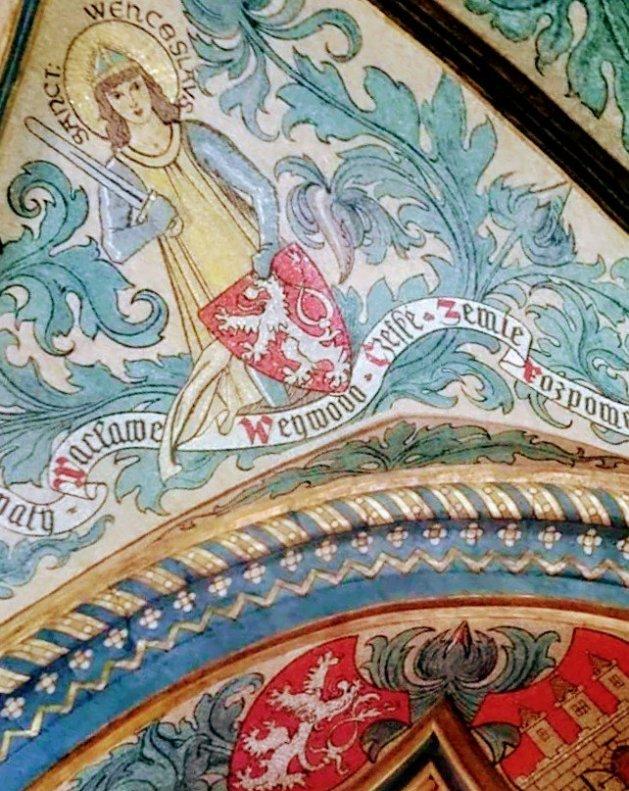Wenceslas是一名捷克歷史中信仰基督的重要人物,傳說中是莉布絲的後代