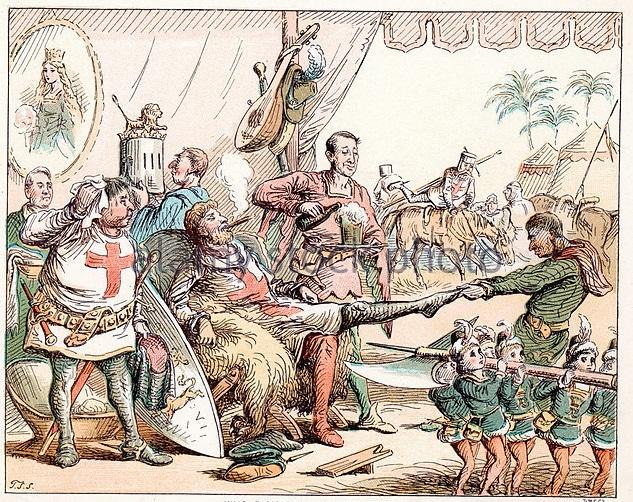 King Richard I In Palestine,