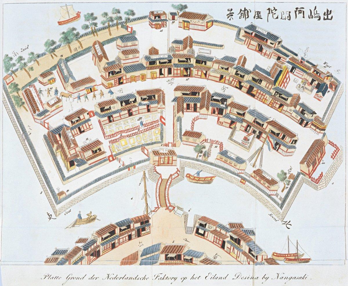 出島阿陀蘭,阿陀蘭即日本人對荷蘭的稱呼