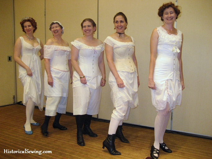 Image result for pantalettes from 19th century