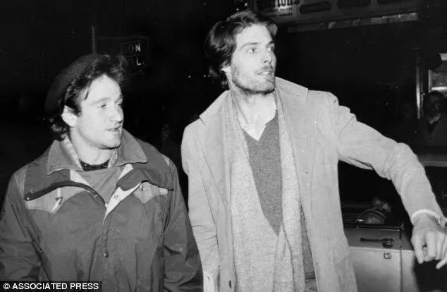 Christopher Reeve and Robin Williams