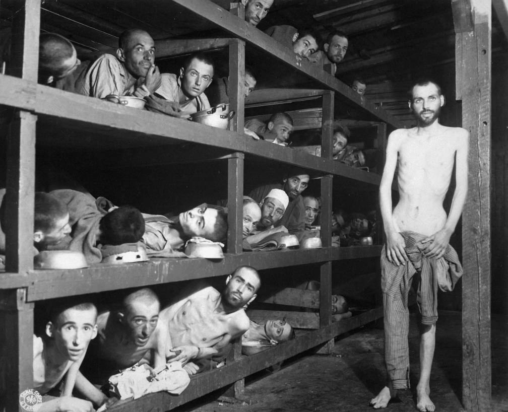Buchenwald, April of 1945.