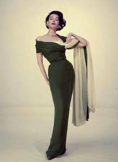 A snapshot of fashion history from the 1950s
