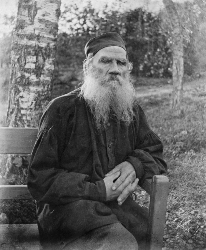 Leo Tolstoy, 1897.