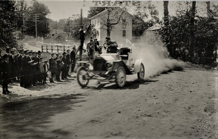 Easton 1909 Burman no5 buick hill climb