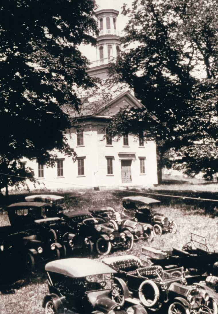 Easton HSE Congregational Church C 1916