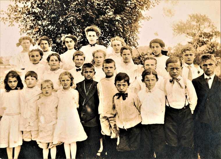 Easton HSE S40 1911 Plattsville School