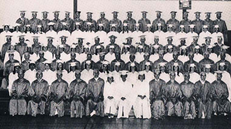 Easton HSE S46 Barlow Graduation 1965