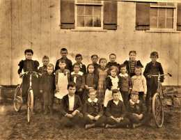 Adams School class photo c.1900
