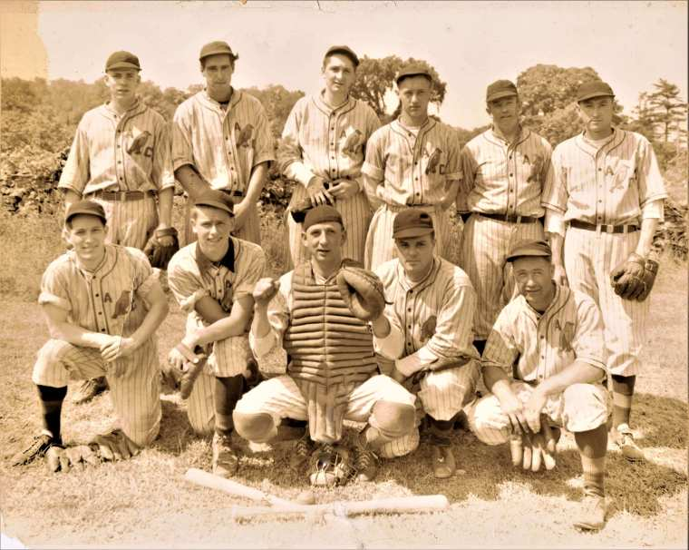 Easton HSE M23 May 30, 1937 Bluebird baseball team