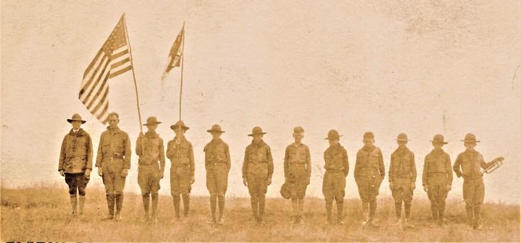 Easton HSE M5 Easton Boy Scouts in Lordship Bluff (2)