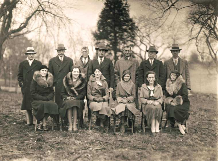 Easton HSE M78 1932 Officers of the Grange