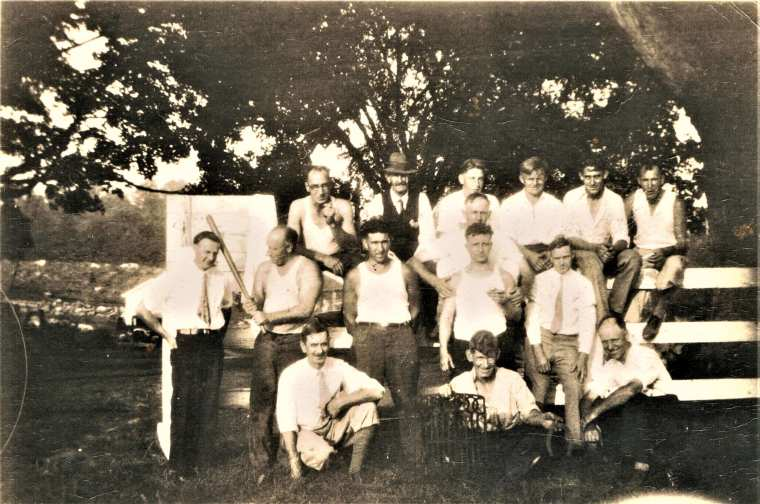 Easton HSE M86 Fire Dept Picnic c.1931