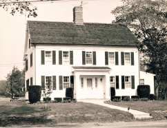 640 Morehouse Road. Alfred Burr House c.1794. Rectory for Notre Dame Church