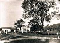 North Park Avenue Patterson Homestead lost to Easton Lake c.1926