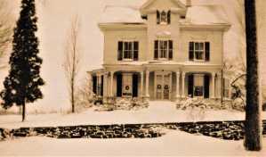 131 Sport Hill Road, Sam Senior House, 1878.
