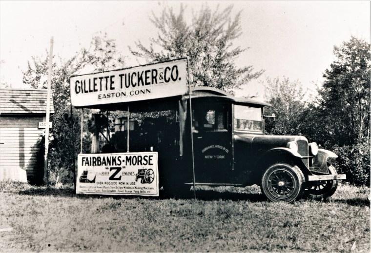 Easton HSE M116 Gillette Tucker 1930's
