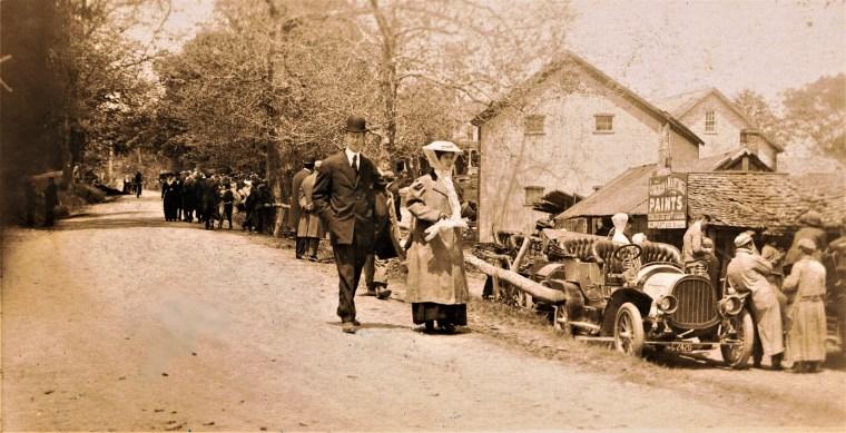 Easton HSE M117 1908 races Sport Hill