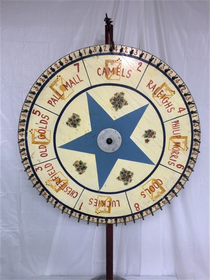 The Jersey cigarette wheel