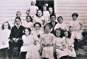 Easton HSE S39 Judd School class photo c1905