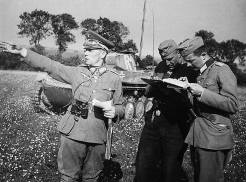 Rommel in France 1940.