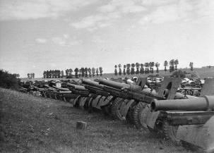 Captured Soviet equipment.