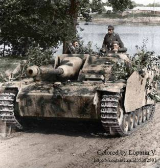 StuG III in France.