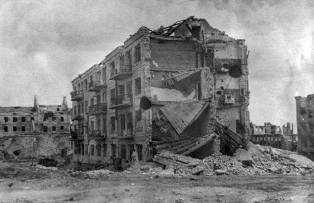 Pavlov's House, 1943, Stalingrad.
