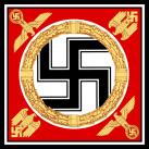 Personal standard of Adolf Hitler.