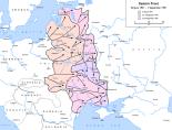 German advances during Operation Barbarossa, 22 June to 9 September 1941.