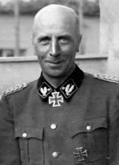 SS-Obergruppenführer and Waffen-SS General Wilhelm Bittrich
