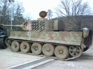 Not the best replica, but a Tiger 1.