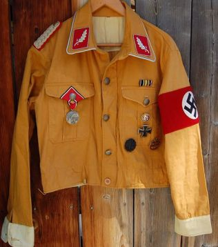 """SA Standartenfhr """"brownshirt"""" project. Order Catalog for http://soldat.com/ or Soldat FHQ on Facebook."""