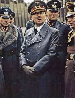 Guderian, Hitler, and Keitel.