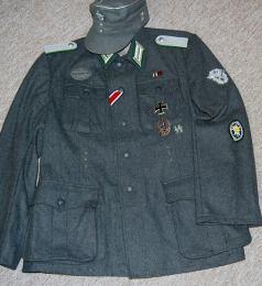 Leutnant Police Gebirgsjäger Regimentm 18. Made by http://soldat.com/ or Soldat FHQ on Facebook.